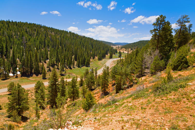 Download Winding road stock image. Image of outside, green, utah - 17434391