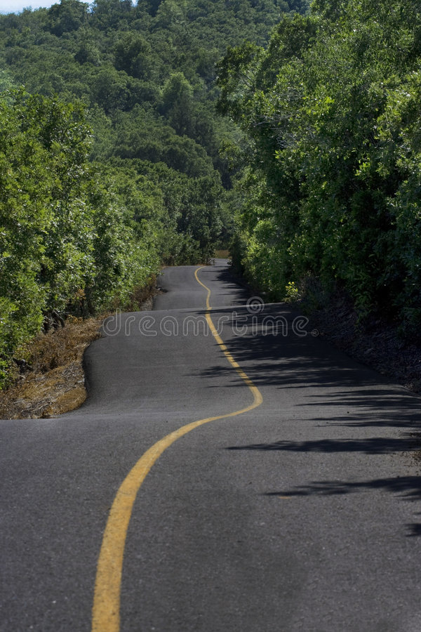 Download Winding Road stock image. Image of crooked, road, direction - 7616063
