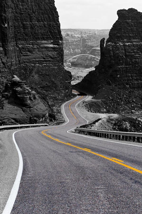 Free Winding Road, Glen Canyon Stock Photo - 11182750