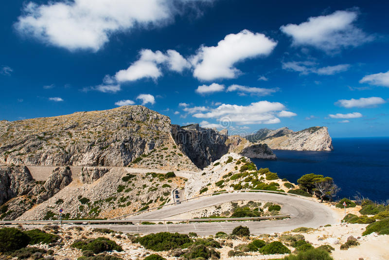 Download Winding Road In Mountain In Mallorca Spain Stock Photo - Image: 26833294