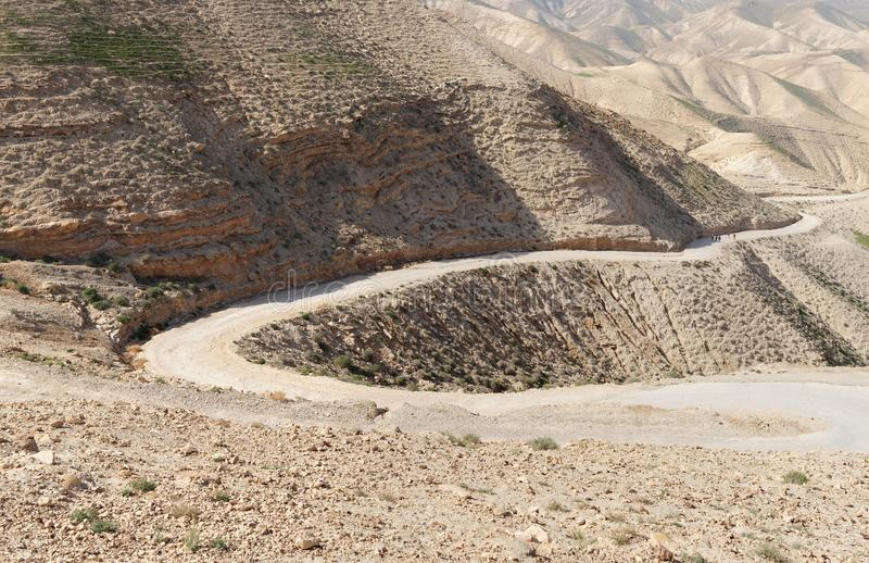 Download Winding Road In The Rocky Desert Stock Photo - Image: 29000220