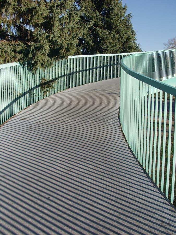 Winding Walkway stock photo