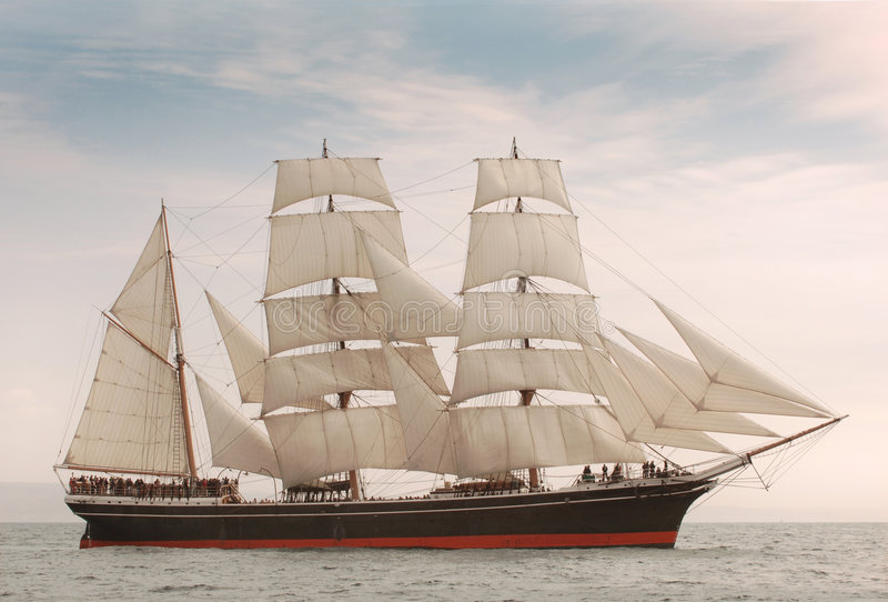 windjammer royaltyfria foton