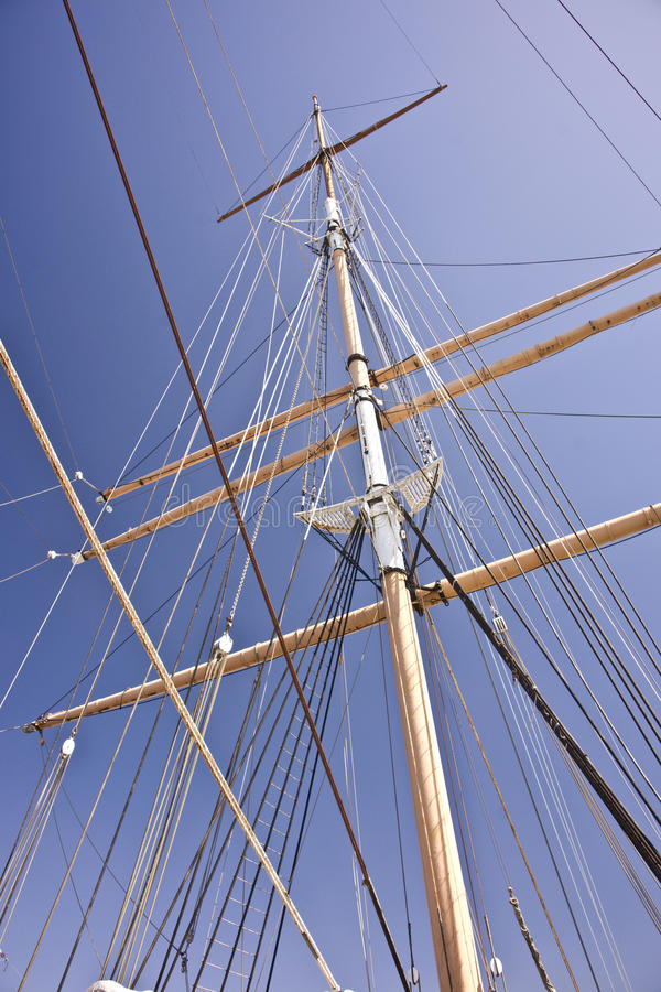Free Windjammer Mast And Rigging Stock Photo - 27094530