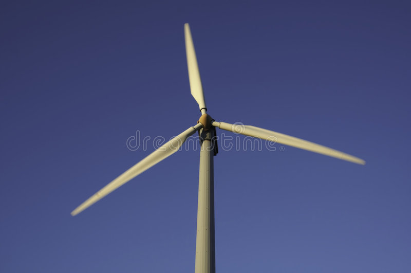 Windlandwirtschaft stockfoto