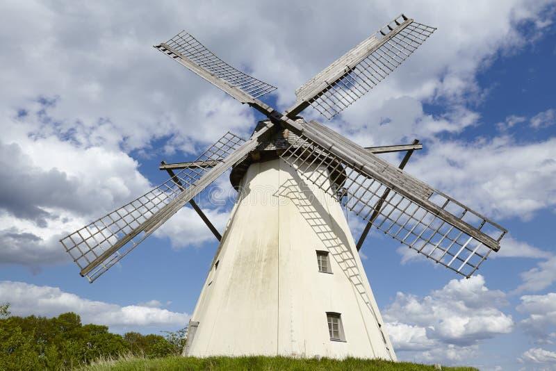Windmühle Grossenheerse (Petershagen) lizenzfreie stockbilder