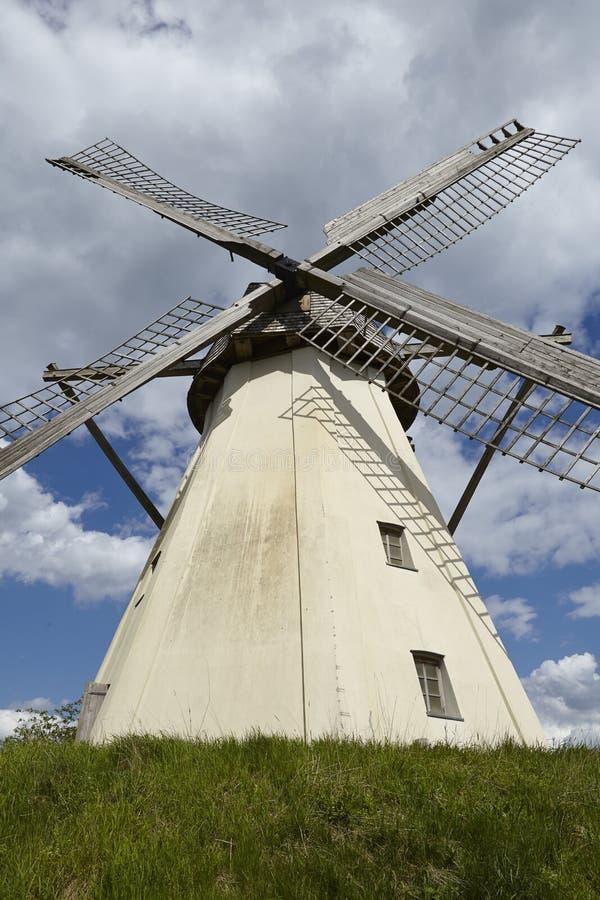 Windmühle Grossenheerse (Petershagen) stockfotos
