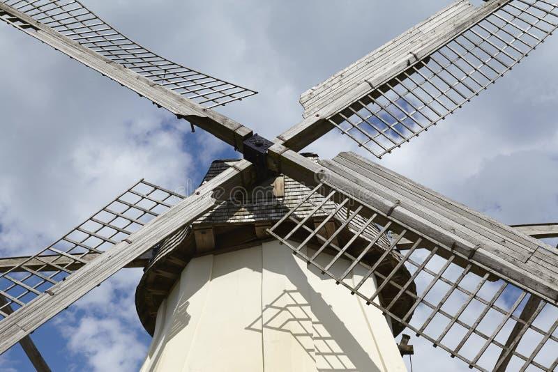 Windmühle Grossenheerse (Petershagen) stockfotografie