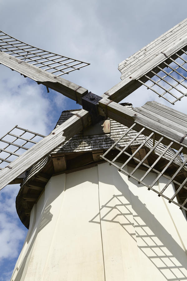 Windmühle Grossenheerse (Petershagen) stockfoto