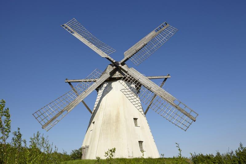 Windmühle Grossenheerse Petershagen lizenzfreie stockfotografie