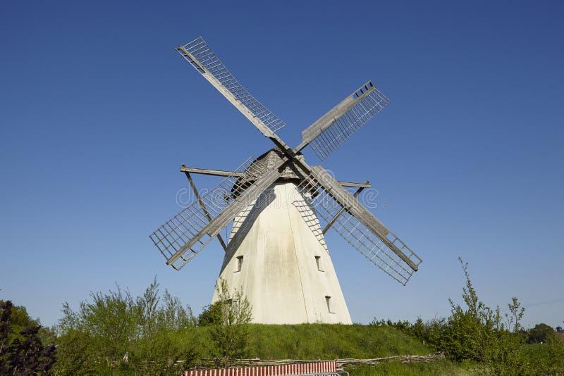 Windmühle Grossenheerse Petershagen lizenzfreies stockbild