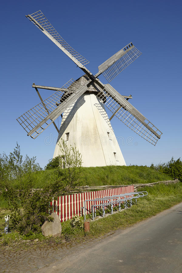 Windmühle Grossenheerse Petershagen stockfotos