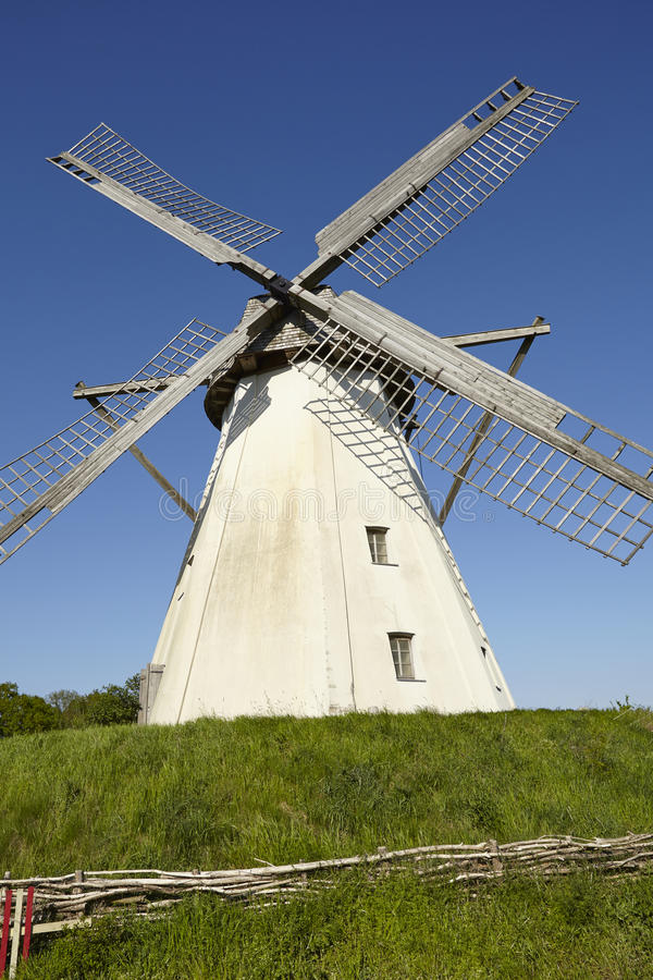 Windmühle Grossenheerse Petershagen lizenzfreie stockfotos