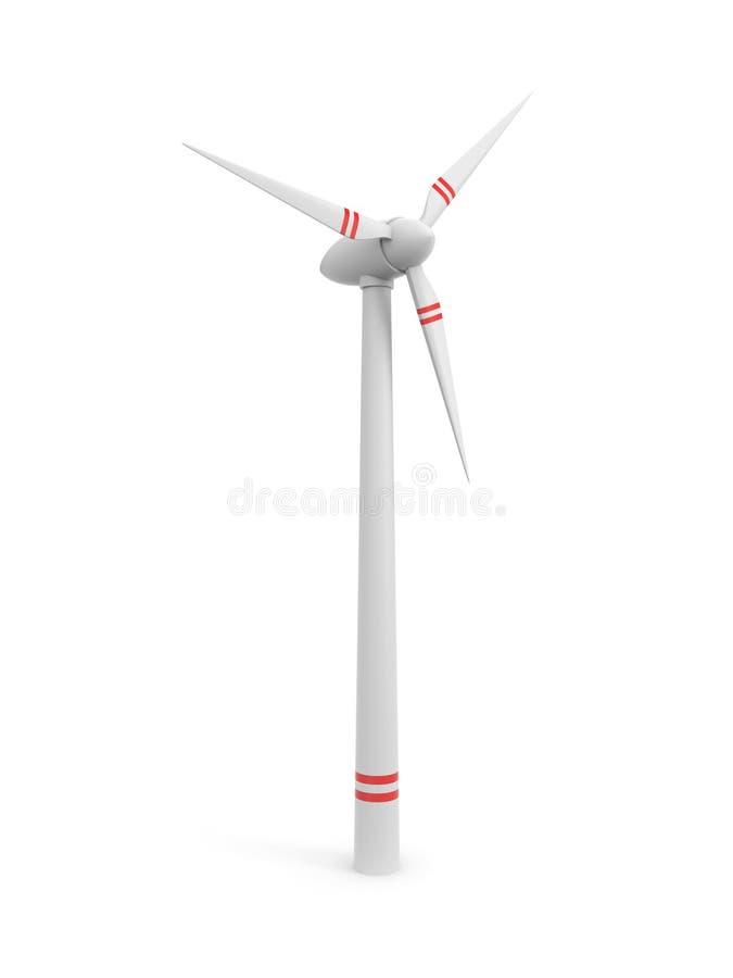 Windmühle I stock abbildung