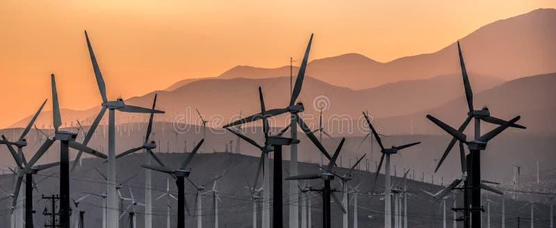 Windmühlen III lizenzfreies stockbild