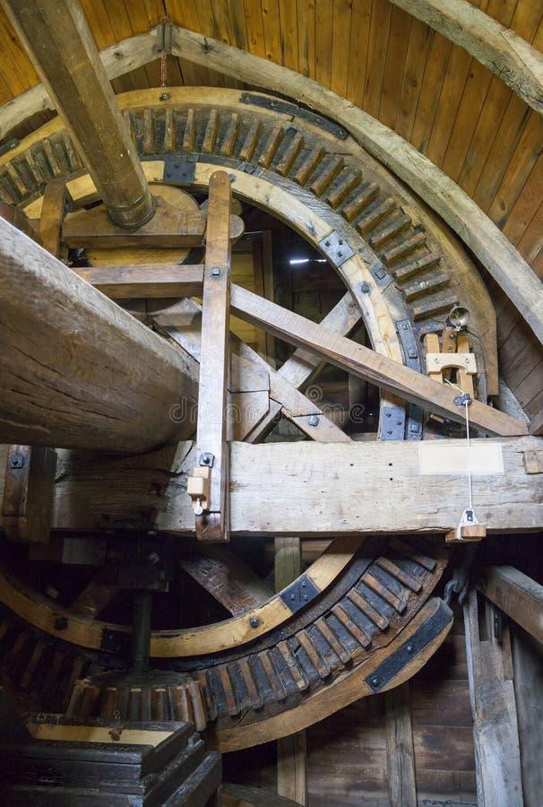 Windmühlen-Innenraum lizenzfreies stockfoto