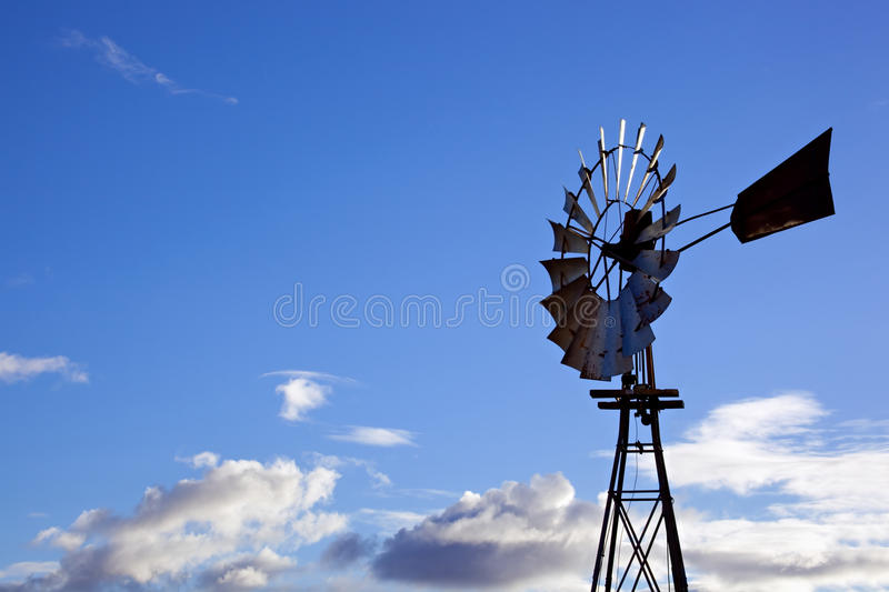 Download Windmill stock photo. Image of nobody, clouds, blue, color - 10446574