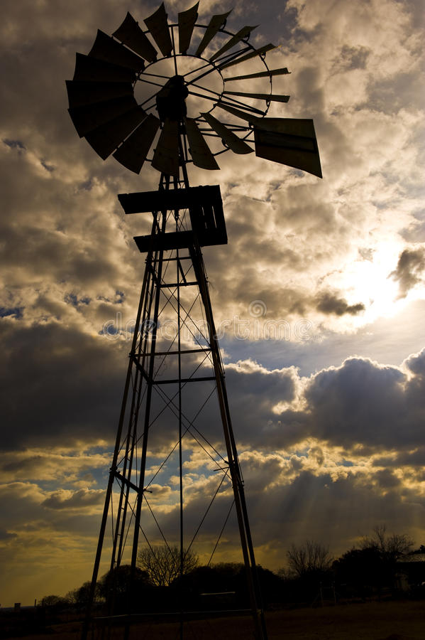 Download Windmill stock image. Image of environment, dramatic - 10902863