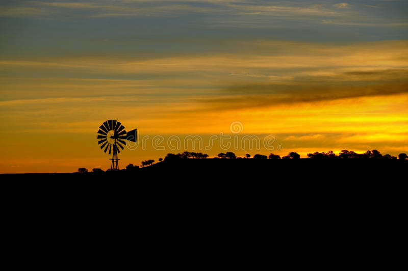 Download Windmill stock image. Image of propeller, silhouette - 11614781