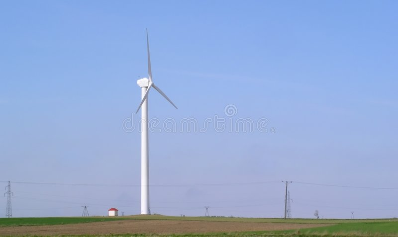 Download Windmill stock image. Image of field, generator, source - 118611