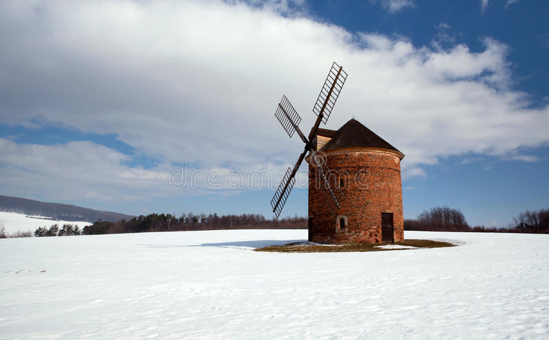 Download Windmill stock image. Image of cloud, alternative, propeller - 13131475