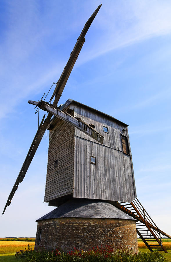 Download Windmill stock image. Image of mill, monument, countryside - 15768839
