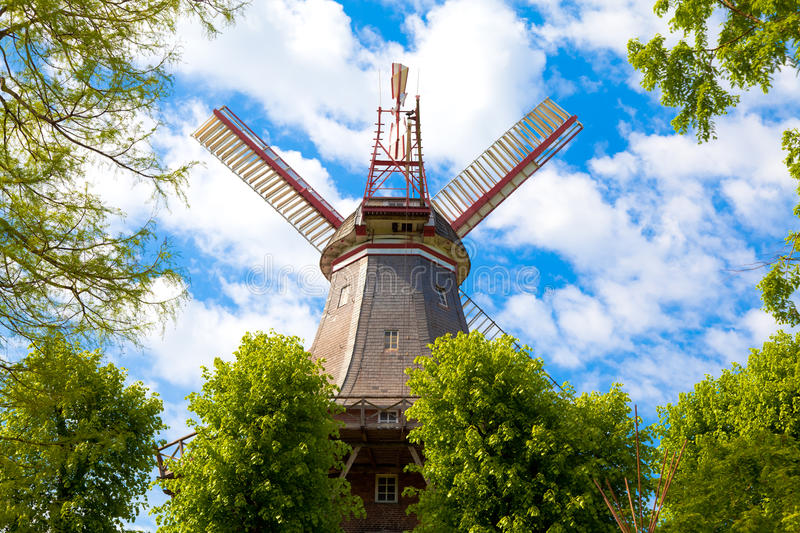 Download Windmill stock image. Image of farm, historical, netherlands - 17562029
