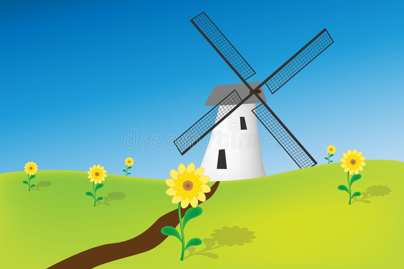 Download Windmill Stock Photo - Image: 18004090