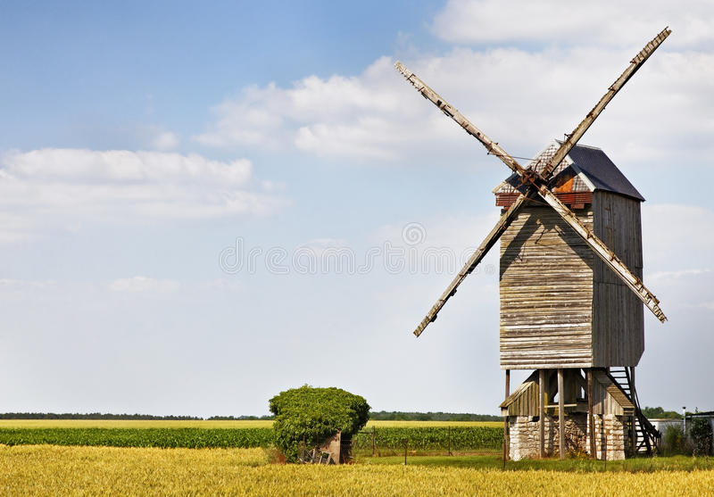 Download Windmill stock image. Image of agriculture, countryside - 18162731