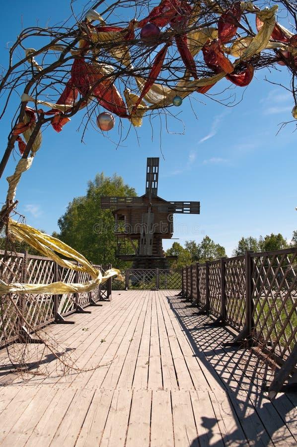 Windmill stock photography