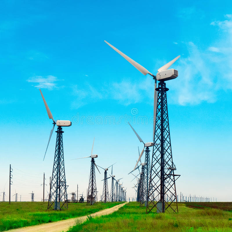 Download Windmill stock photo. Image of generation, nature, cloud - 25326610