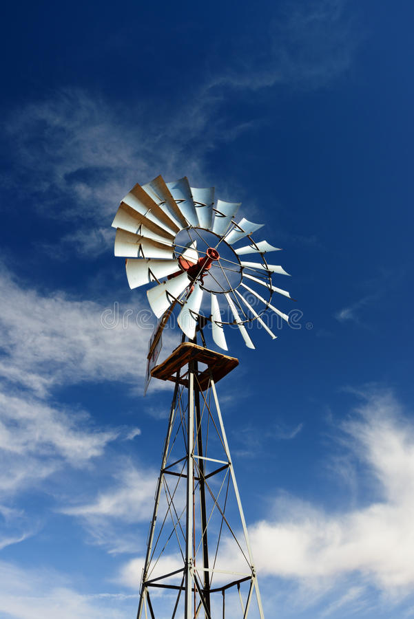 Download Windmill stock image. Image of blue, water, energy, cloud - 26247153