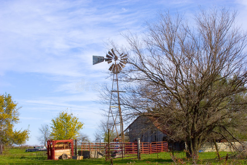 Windmill#3 royalty free stock image