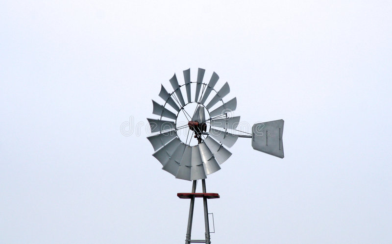 Windmill. A old windmill used to pump water royalty free stock photo