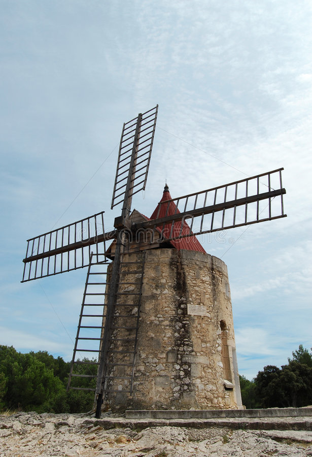 Download Windmill stock photo. Image of motion, rock, efficiency - 6211930