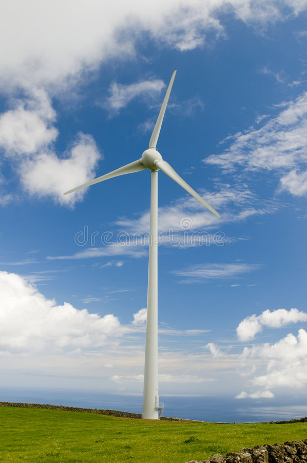 Download Windmill stock image. Image of spin, mill, resource, blue - 6621355