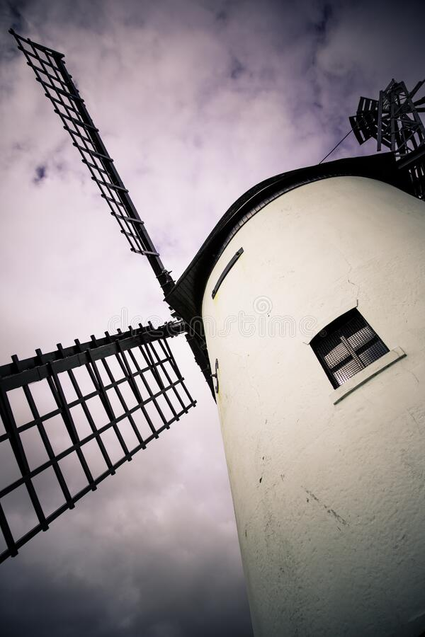 Windmill Against Clouds Free Public Domain Cc0 Image