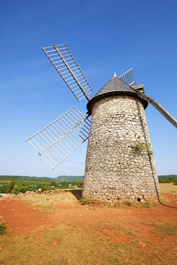 Free Windmill At La Couvertoirade Royalty Free Stock Photography - 68361267