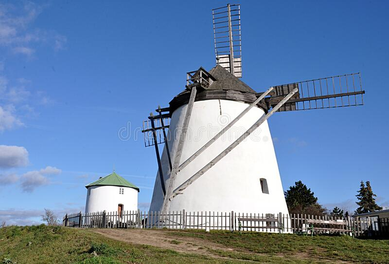Windmill, Austria, Europe royalty free stock photography