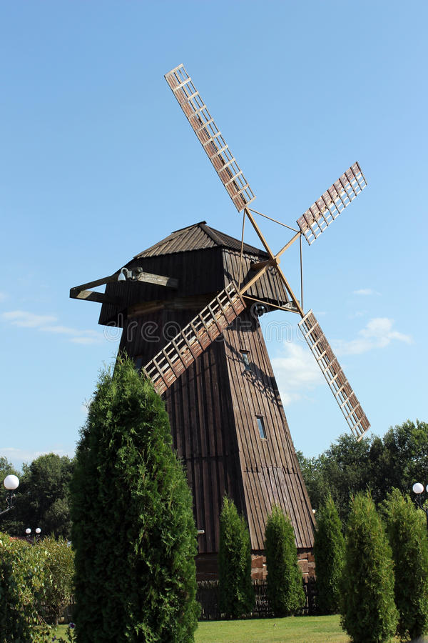 Download Windmill  in Belarus stock image. Image of architecture - 26514565