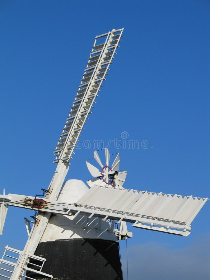 Windmill, Cambridgeshire royalty free stock photos