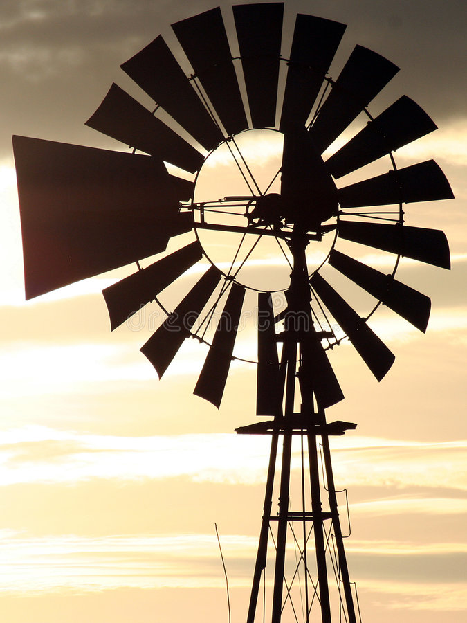 Download Windmill Closeup stock photo. Image of sunset, blade, energy - 1028326
