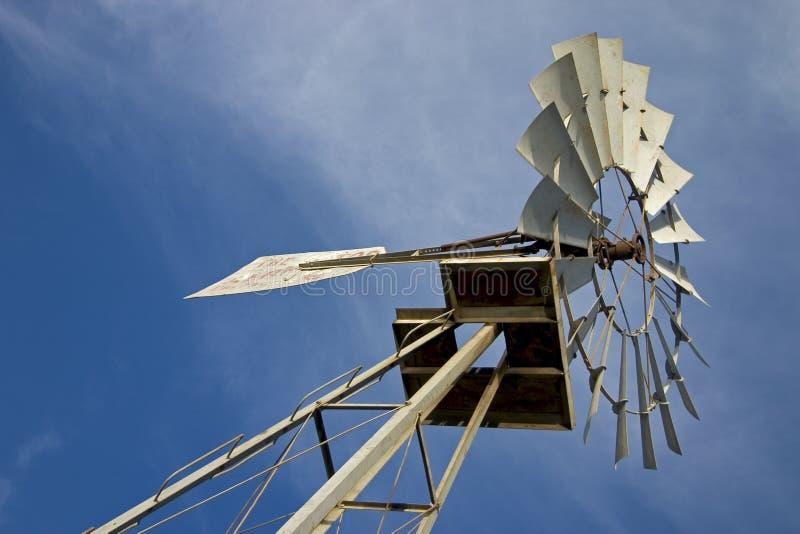 Windmill För 2 Texas Arkivbilder