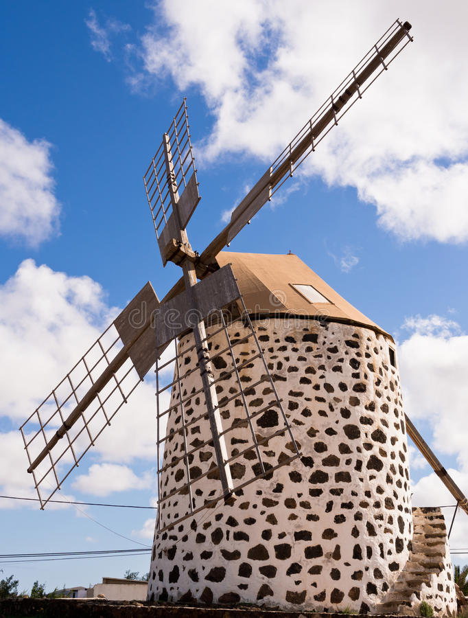Windmill, Fuerteventura,  Canary Islands