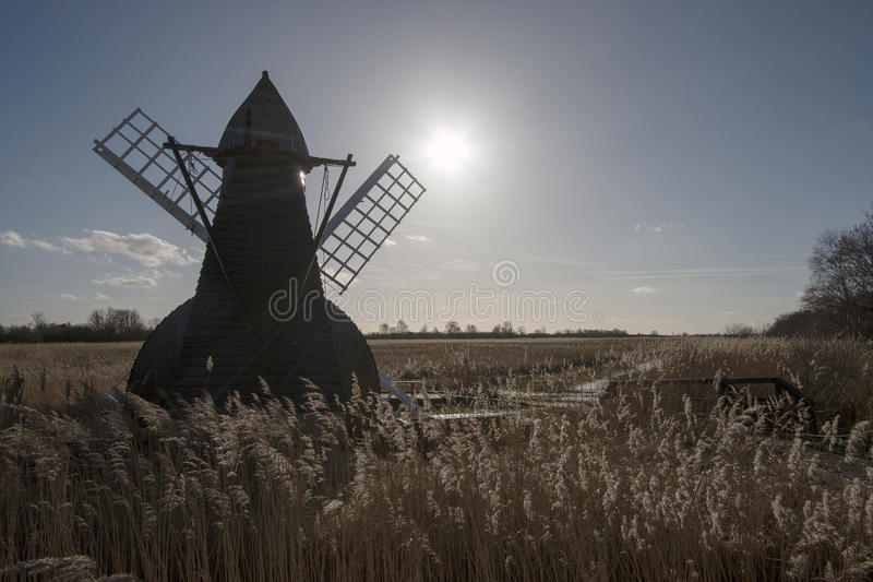 Download Windmill stock photo. Image of landscape, field, warm - 39507530