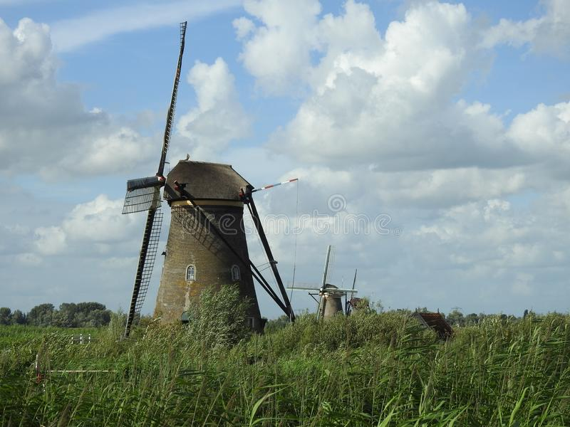 Windmill, Grassland, Mill, Field stock photos