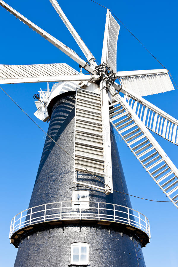 Download Windmill in Heckington stock image. Image of outside - 28527137