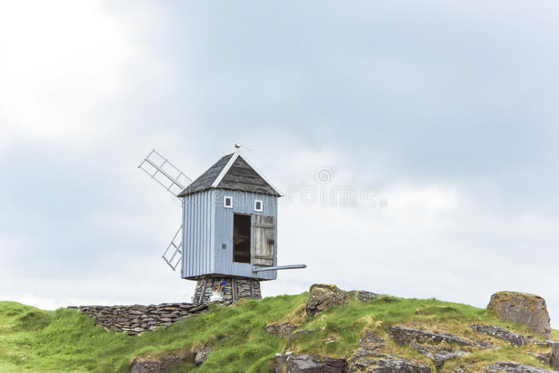 Windmill Iceland stock images
