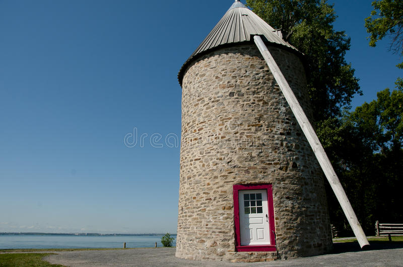 Windmill - Ile Perrot - Canada. Windmill with no Sails - Ile Perrot - Canada royalty free stock image