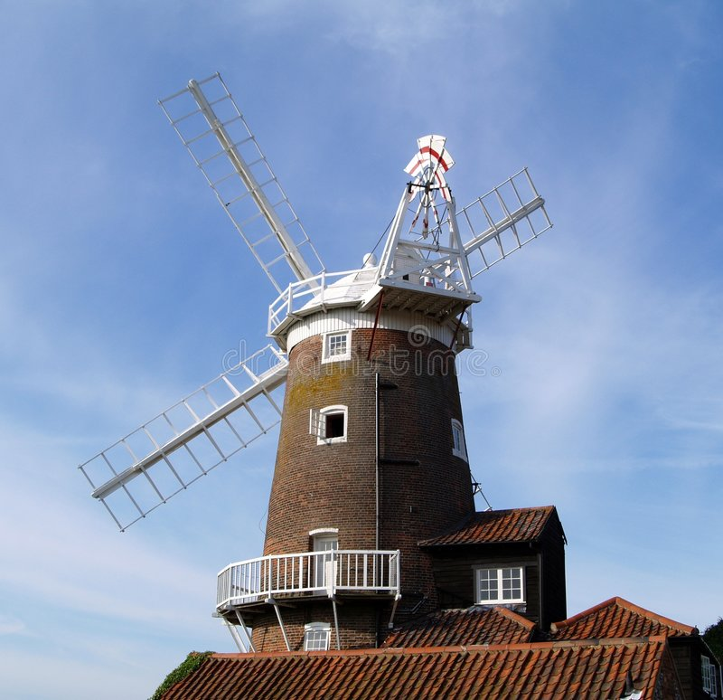Free Windmill In Norfolk, England Stock Photos - 6435043